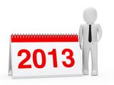 businessman 2013 calendar