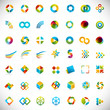 49 logo design / elements set - creative symbols