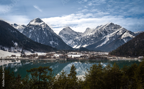 Aachensee and the Alps