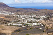 Small town of Haria in Lanzarote