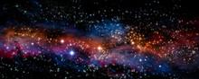 "Постер, картина, фотообои ""Illustration of a nebula"""