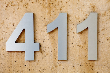 """411"" is the slang term for Information or knowledge,"