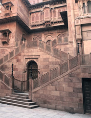 building detail in India