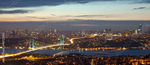 Bosphorus Bridge at the night 8
