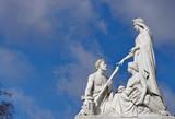 Prince Albert Memorial.  Kensington Gardens. London poster