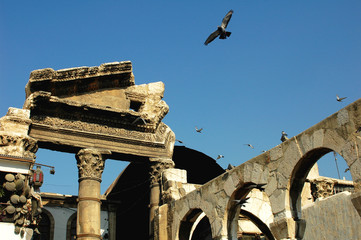 Old mosque in Syria