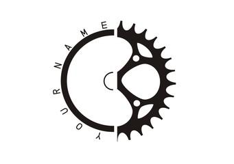 Logo rowery serwis mechanika