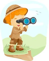 Binocular Kid