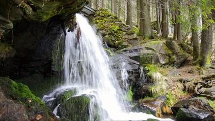Wasserfall, Zweribachwasserfälle im Schwarzwald