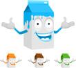 milk carton character