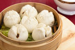 Char Siu Bao - Chinese steamed bun filled with bbq pork -Dim Sum