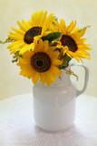 beautiful sun flower bouquet