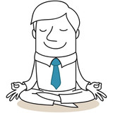 Geschäftsmann, Yoga 2