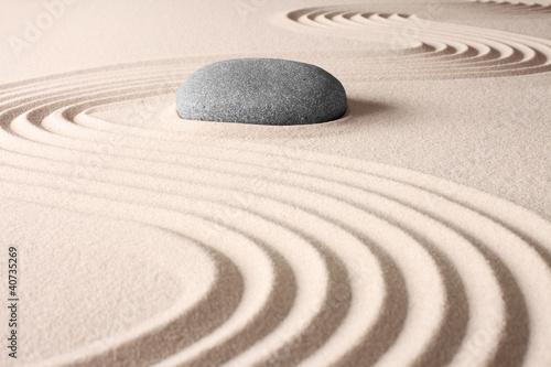 japanese zen garden © kikkerdirk