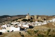 Castle and townhouses, Antequera, Spain © Arena Photo UK