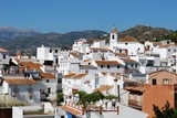 View of town, Sayalonga, Andalusia, Spain © Arena Photo UK