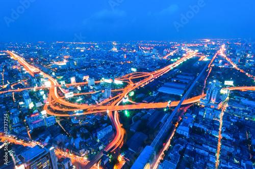 canvas print picture Straßen von Bangkok