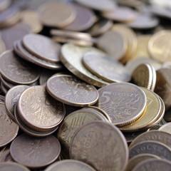 5 groszy monety