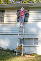 Up a Ladder Painting