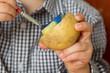 Kartoffeldruck Stempel Bunt