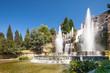 Leinwanddruck Bild - Villa d'Este, Roma
