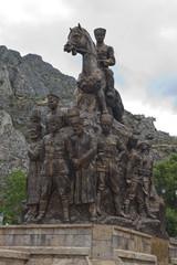 Ataturk statue in Amasya, Turkey