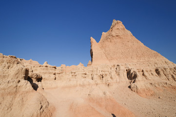 Escarpment in the Badlands