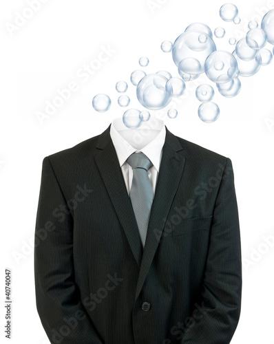 invisible man bubbles