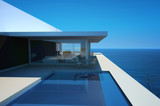 Fototapety Modern Luxury Loft / Apartment with Infinity Pool