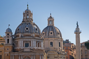 church monuments in rome, italy