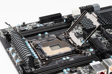 LGA 2011 Socket on a mainboard