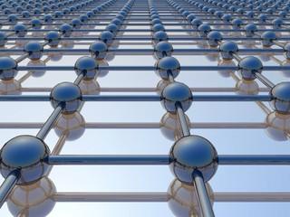 Structure réseau 3d