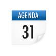 icone calendrier - agenda, rendez-vous