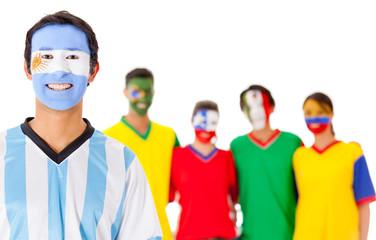 Argentina leading Latin group
