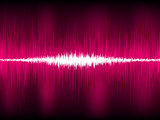 Abstract purple waveform vector background. EPS 8