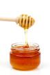 Golden tasty honey