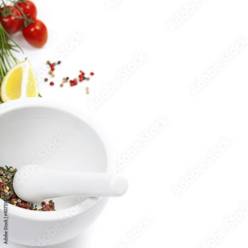 Salt and vegetables - 40751679