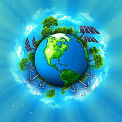 Green planet eco friendly
