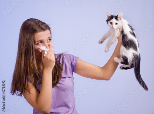 allergic to cat