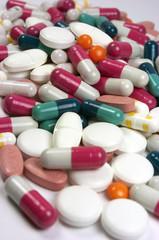 Píldoras, pastillas, medicina, salud