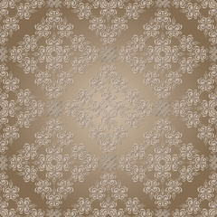 vector seamless lacy pattern