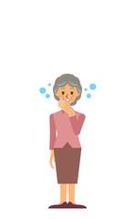 祖母 3 不眠症