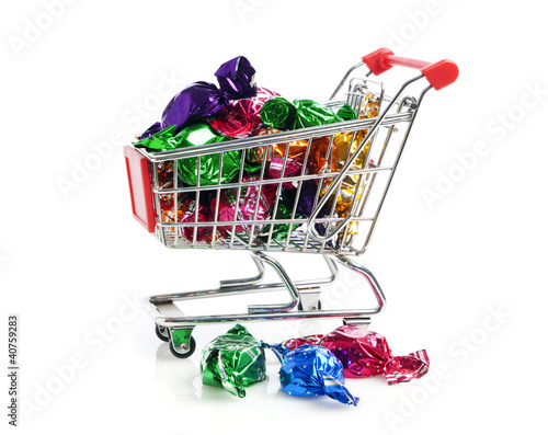 Süßwaren einkaufen