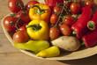 Schale mit Gemüse