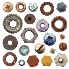 minuteria metallo collage