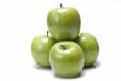 Manzanas verdes ideales para una dieta saludable.