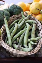 bohnen und broccoli