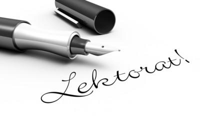 Lektorat - Stift Konzept