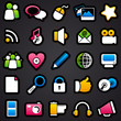social Media Color Icons