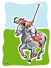 Giocatore di Polo